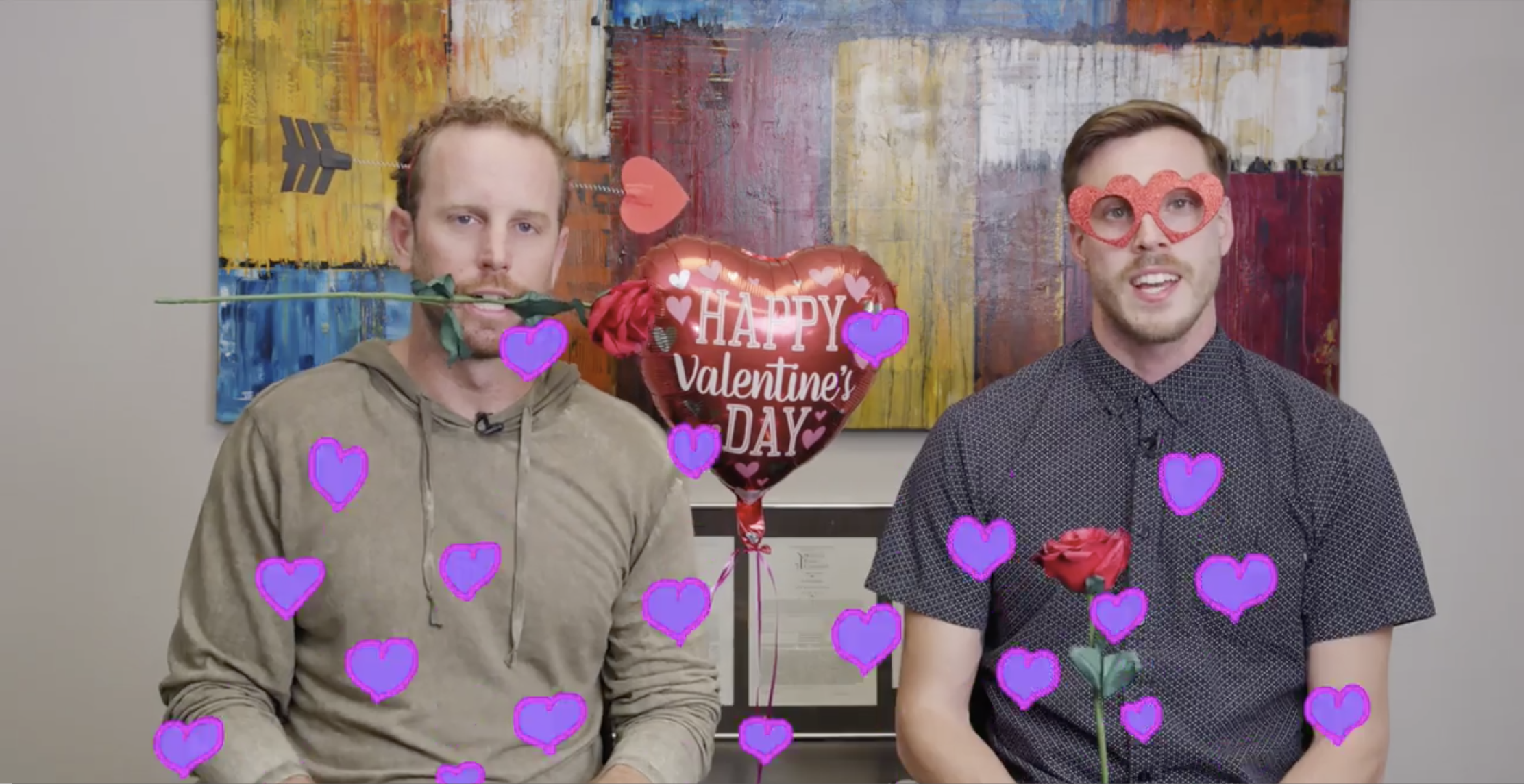 Happy Valentines Day from iBank